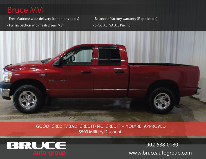 used 2006 dodge ram 1500 st 5 7l 8 cyl hemi automatic 4x4 crew cab in middleton 0. Black Bedroom Furniture Sets. Home Design Ideas