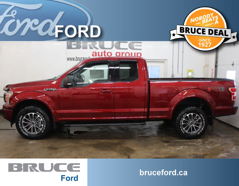 new 2018 ford f 150 fx4 5 0l 8 cyl automatic 4x4 supercab in middleton 0. Black Bedroom Furniture Sets. Home Design Ideas
