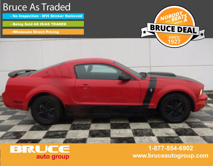 used 2005 ford mustang 4 0l 6 cyl 5 spd manual rwd 2d. Black Bedroom Furniture Sets. Home Design Ideas