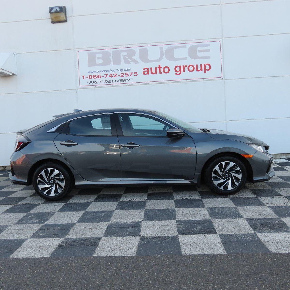 Showroom Showoff 2019 Civic Touring: New 2017 Honda Civic LX 1.5L 4 CYL TURBO CVT FWD 5D