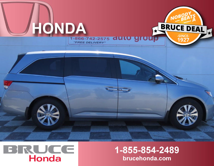 new 2017 honda odyssey ex l 3 5l 6 cyl automatic fwd 8 passengers in middleton 0. Black Bedroom Furniture Sets. Home Design Ideas