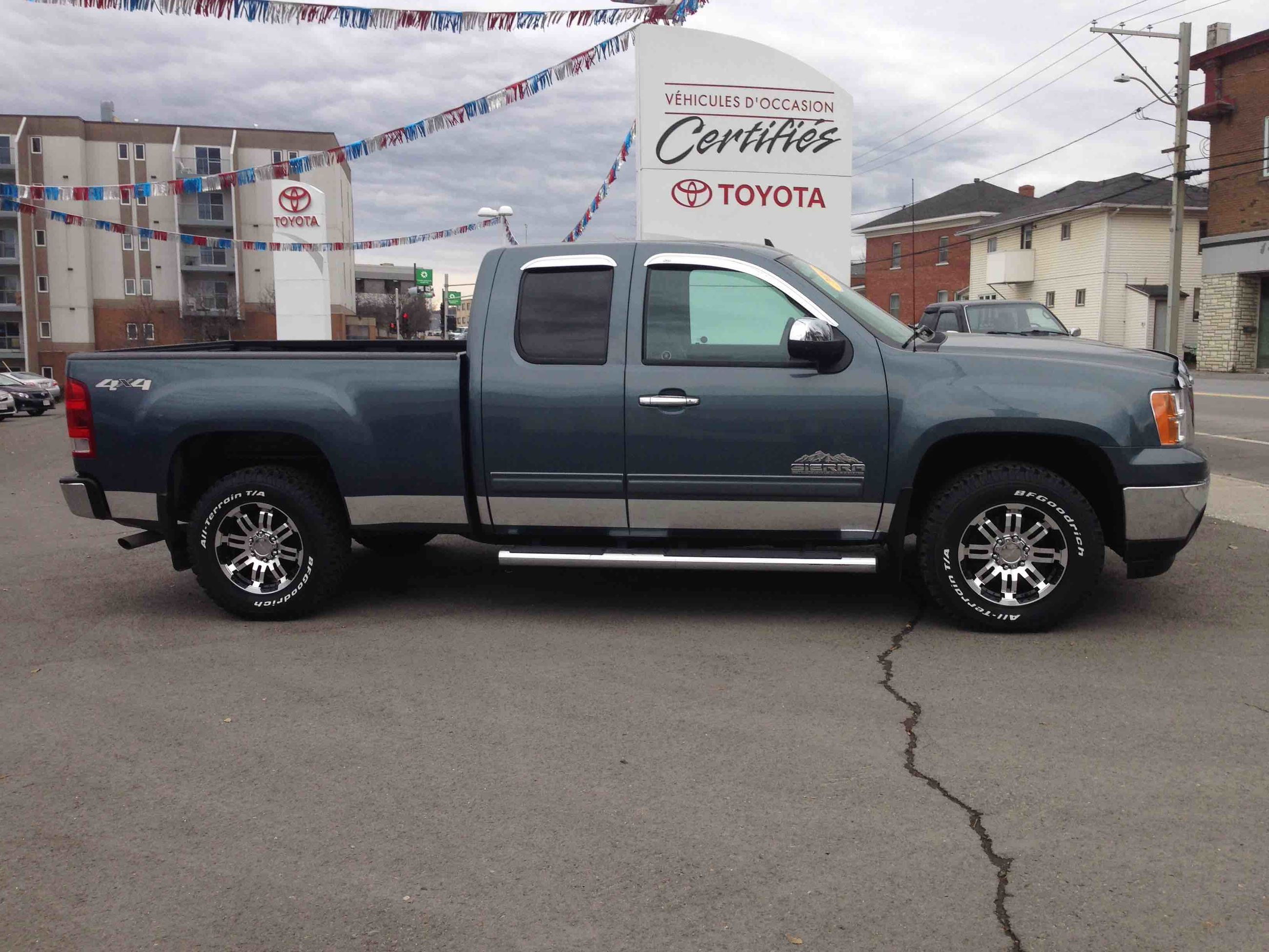 used 2012 gmc sierra 1500 sl nevada edition to sale for 25 in edmundston used inventory. Black Bedroom Furniture Sets. Home Design Ideas