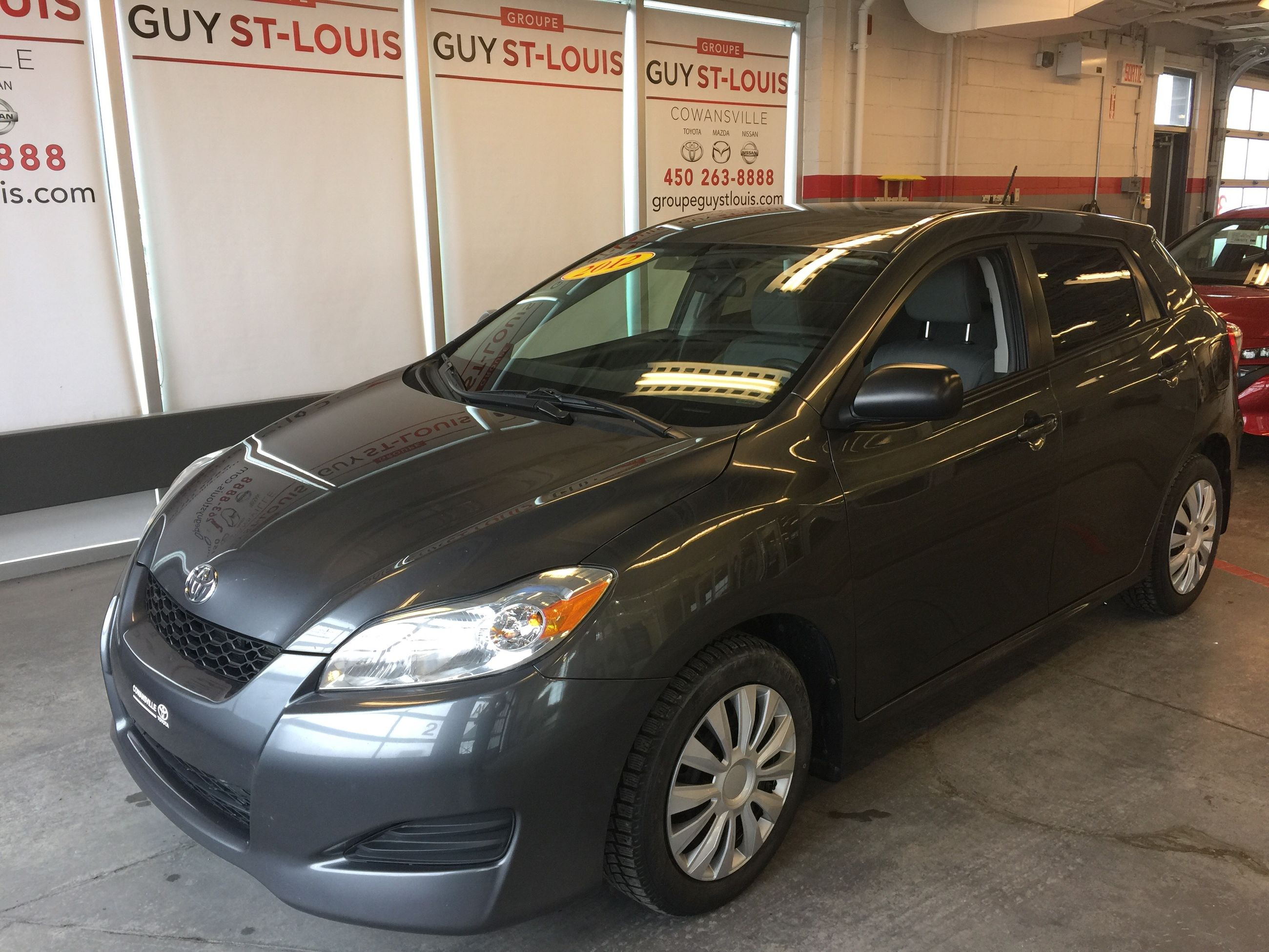 Pre-Owned 2012 Toyota Matrix Groupe électrique A/C in Cowanville -  Pre-Owned inventory - Occasion Cowansville in Cowanville, Quebec