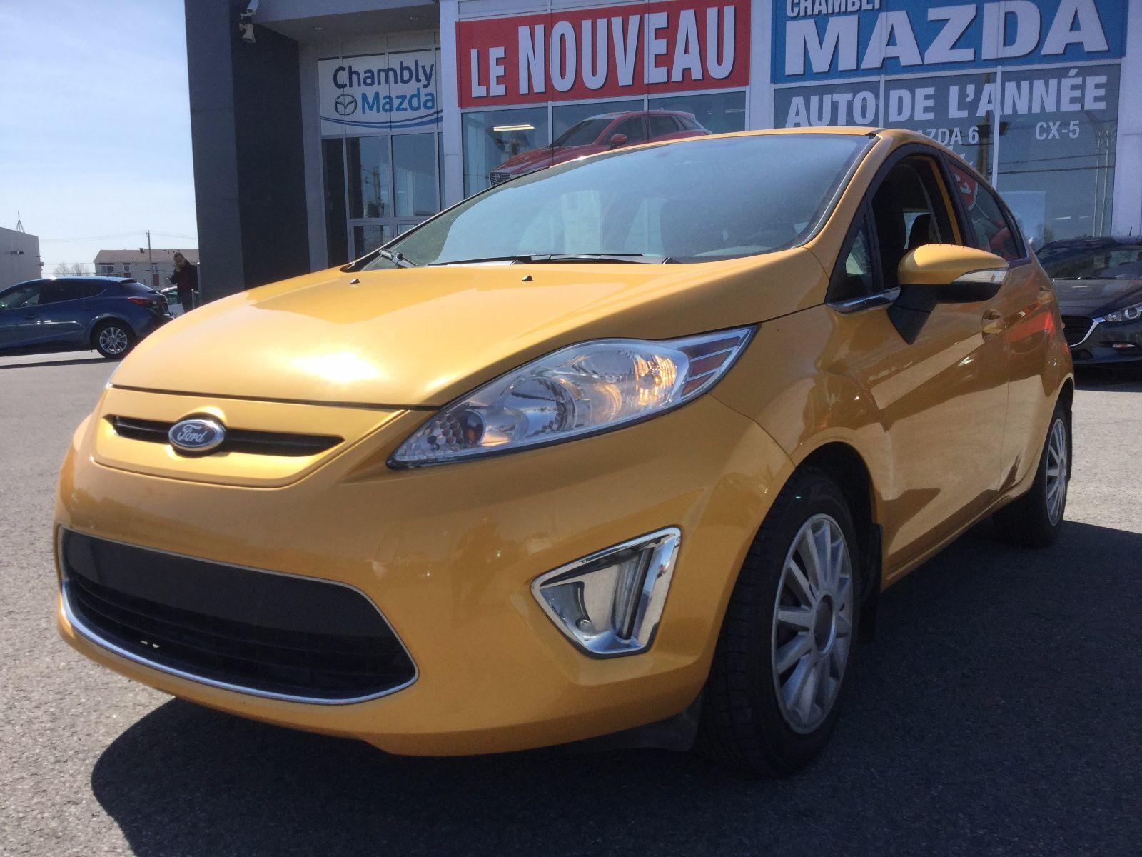 Ford Fiesta ***RÉSERVÉ***, BLUETOOTH, SIÈGES CHAUFFANTS, A/C 2012 JAMAIS ACCIDENTÉ, UN SEUL PROPRIÉTAIRE