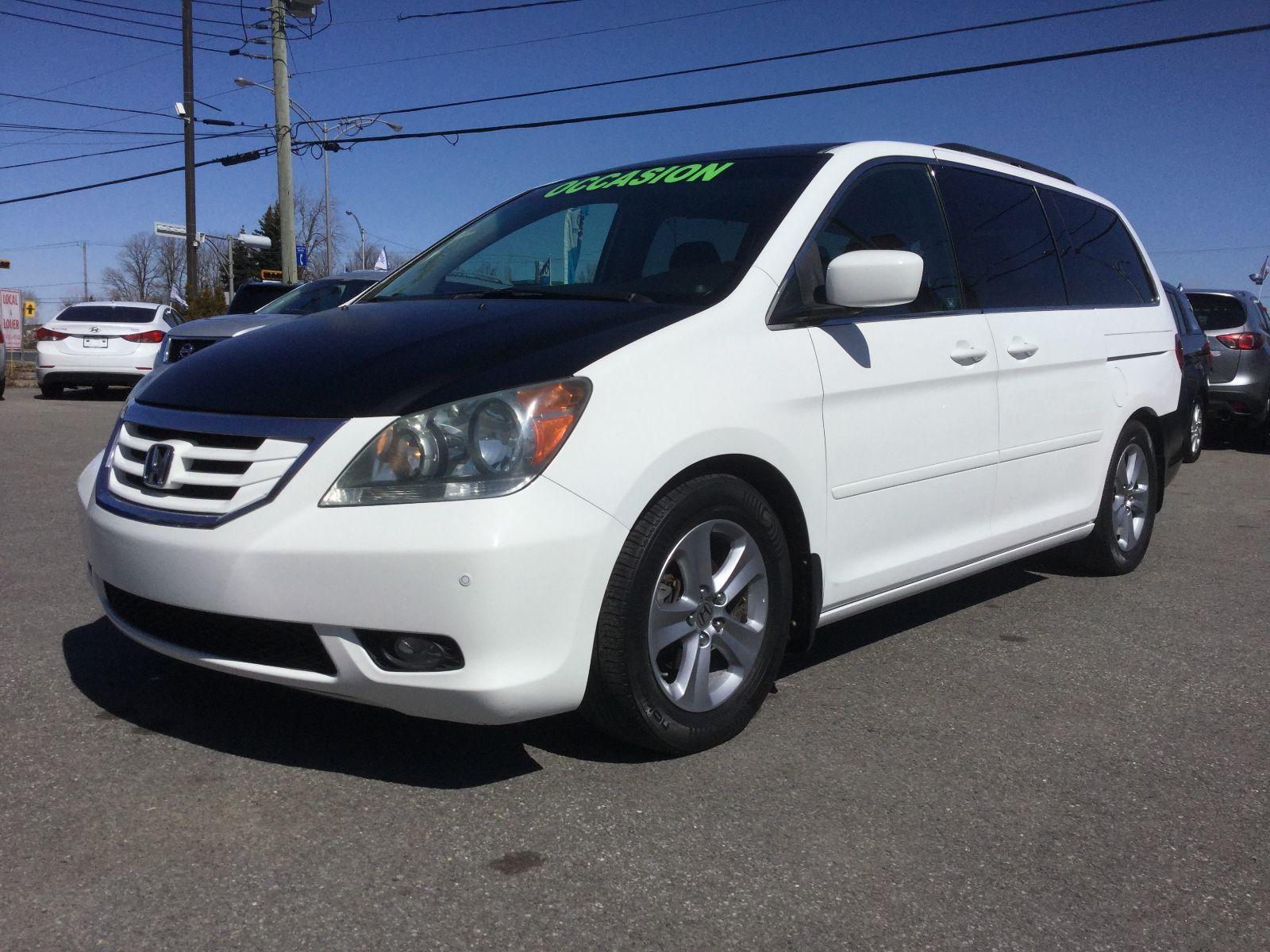 Honda Odyssey **RÉSERVÉ**, EX-L, A/C BIZONE, TOIT, NAVIGATION 2008 JAMAIS ACCIDENTÉ