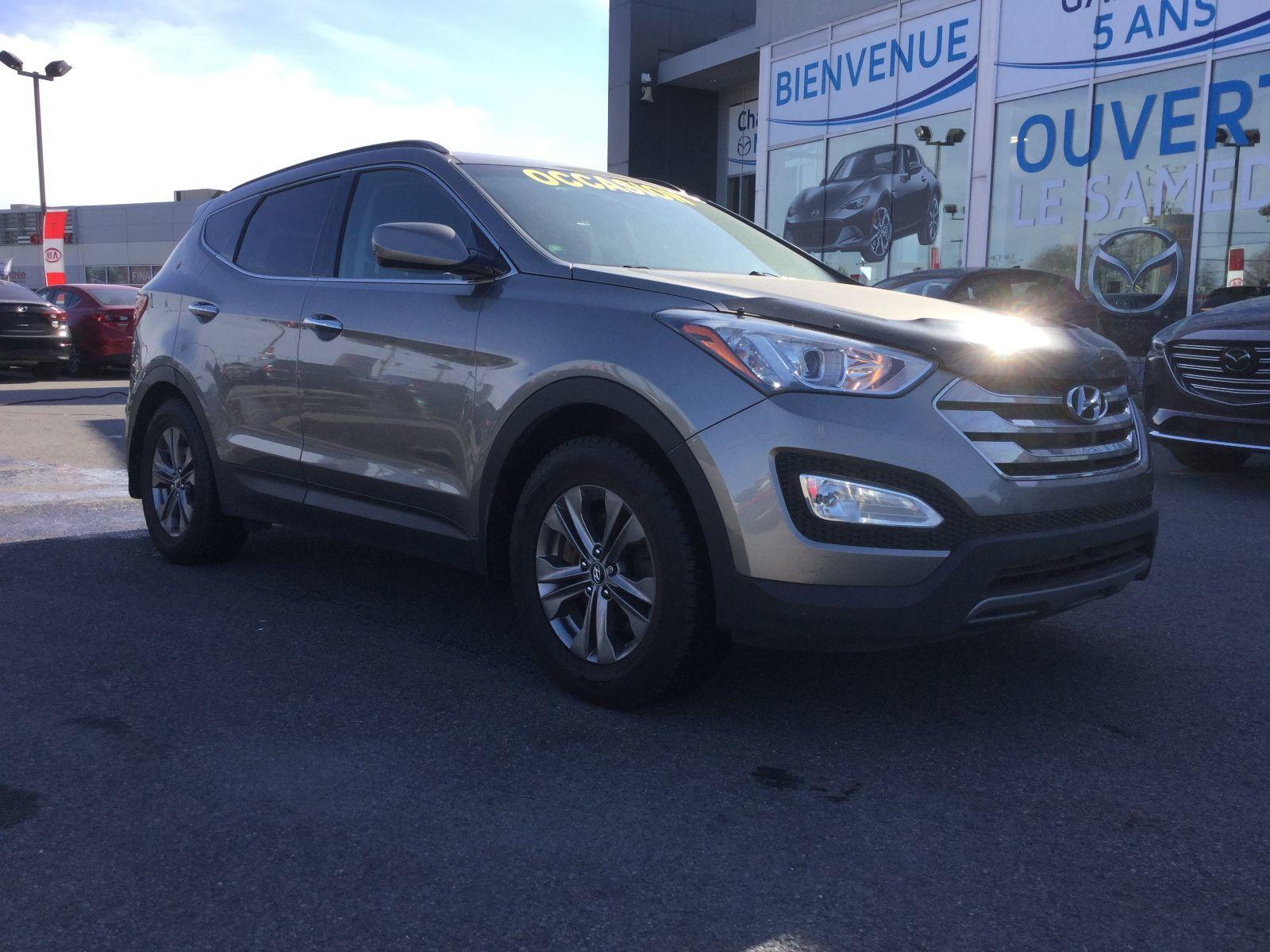 Hyundai Santa Fe **RÉSERVÉ**, SPORT, A/C, SIÈGES/VOLANT CHAUFFANTS 2013 BLUETOOTH, RÉGULATEUR DE VITESSE,