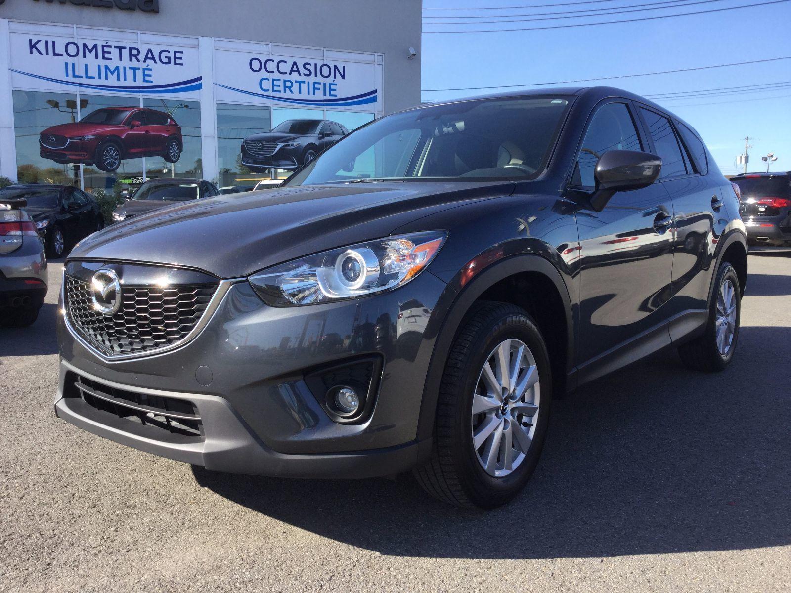 Mazda CX-5 *réservé** GS, AWD, SIÈGES CHAUFFANTS, MAGS, A/C 2015 JAMAIS ACCIDENTÉ, UN SEUL PROPRIÉTAIRE