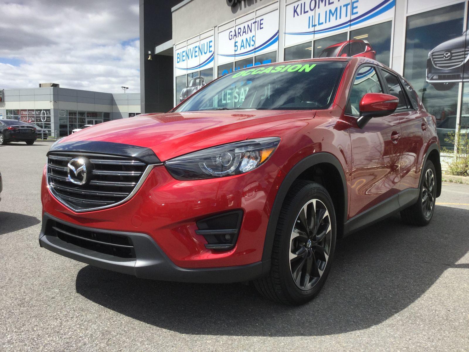 Mazda CX-5 **RÉSERVÉ**,GT, AWD, NAVIGATION (GPS), A/C BIZONE, 2016 JAMAIS ACCIDENTÉ