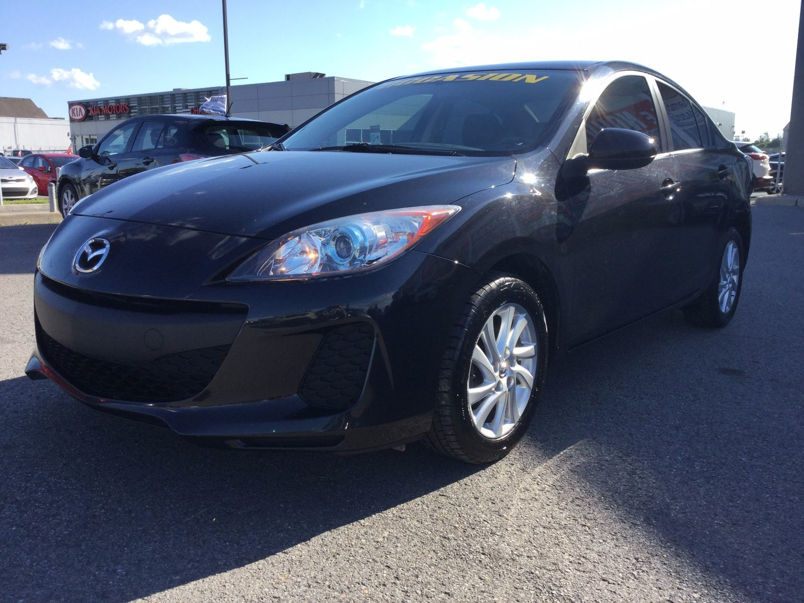 Mazda Mazda3 **RÉSERVÉ**, GS-SKY, BLUETOOTH, SIÈGES CHAUFFANTS 2013 JAMAIS ACCIDENTÉ, UN SEUL PROPRIÉTAIRE