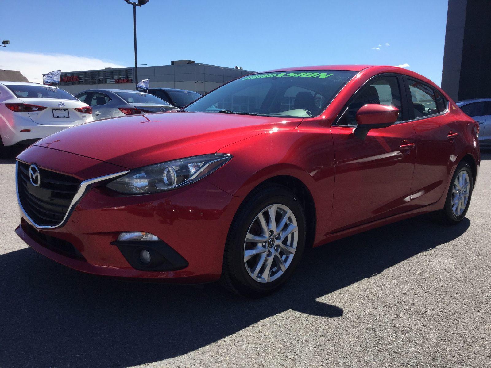 Mazda Mazda3 **RÉSERVÉ**, GS, TOIT OUVRANT SIEGE CHAUFFANT 2014 TOIT OUVRANT, CAMÉRA DE RECULE
