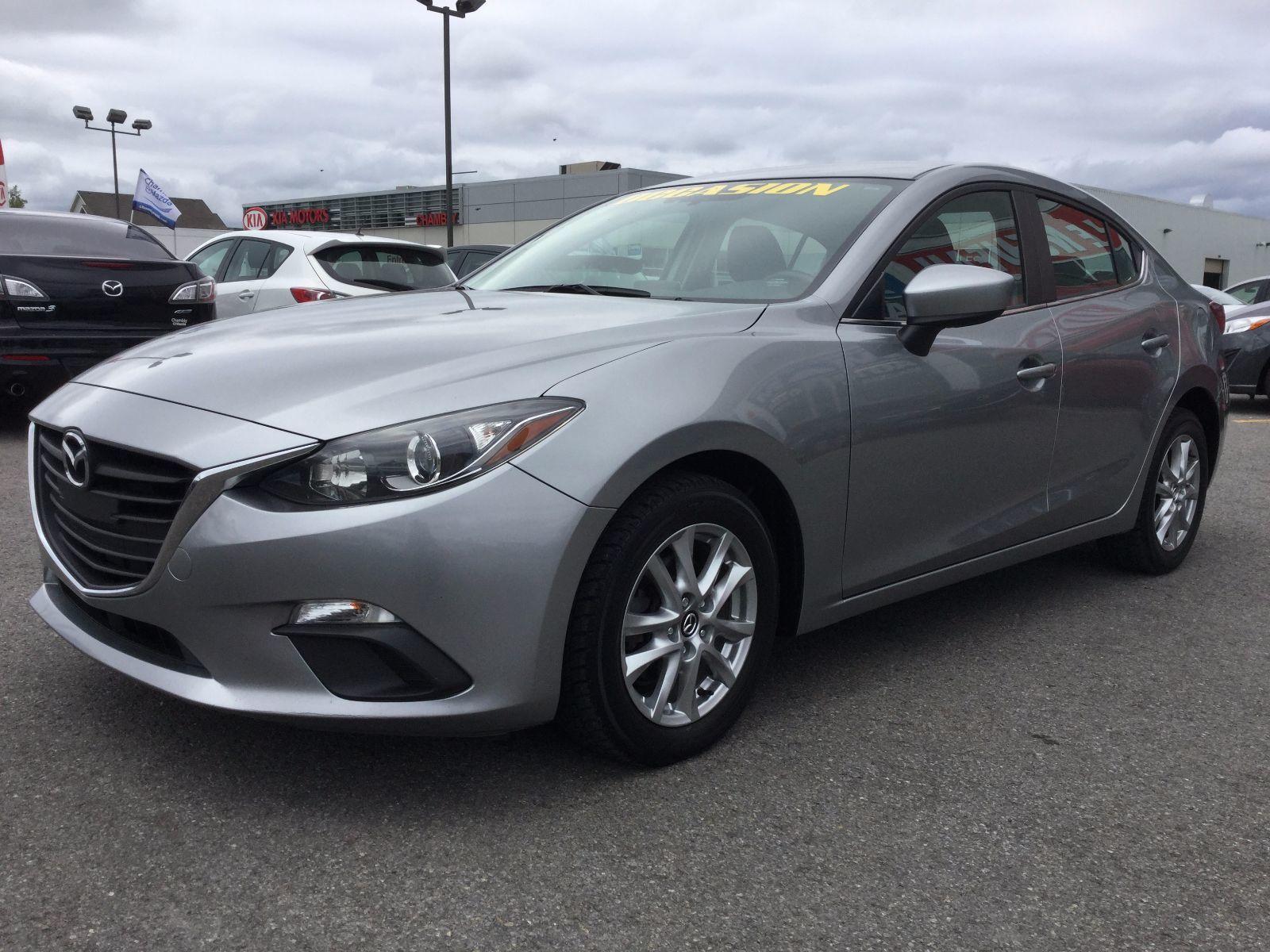 Mazda Mazda3 **RÉSERVÉ**, GS-SKY, GARANTIE JUSQU EN 2019 2014 jAMAIS ACCIDENTÉ, UN SEUL PROPRIÉTAIRE, BAS KILLOMÉTRAGE