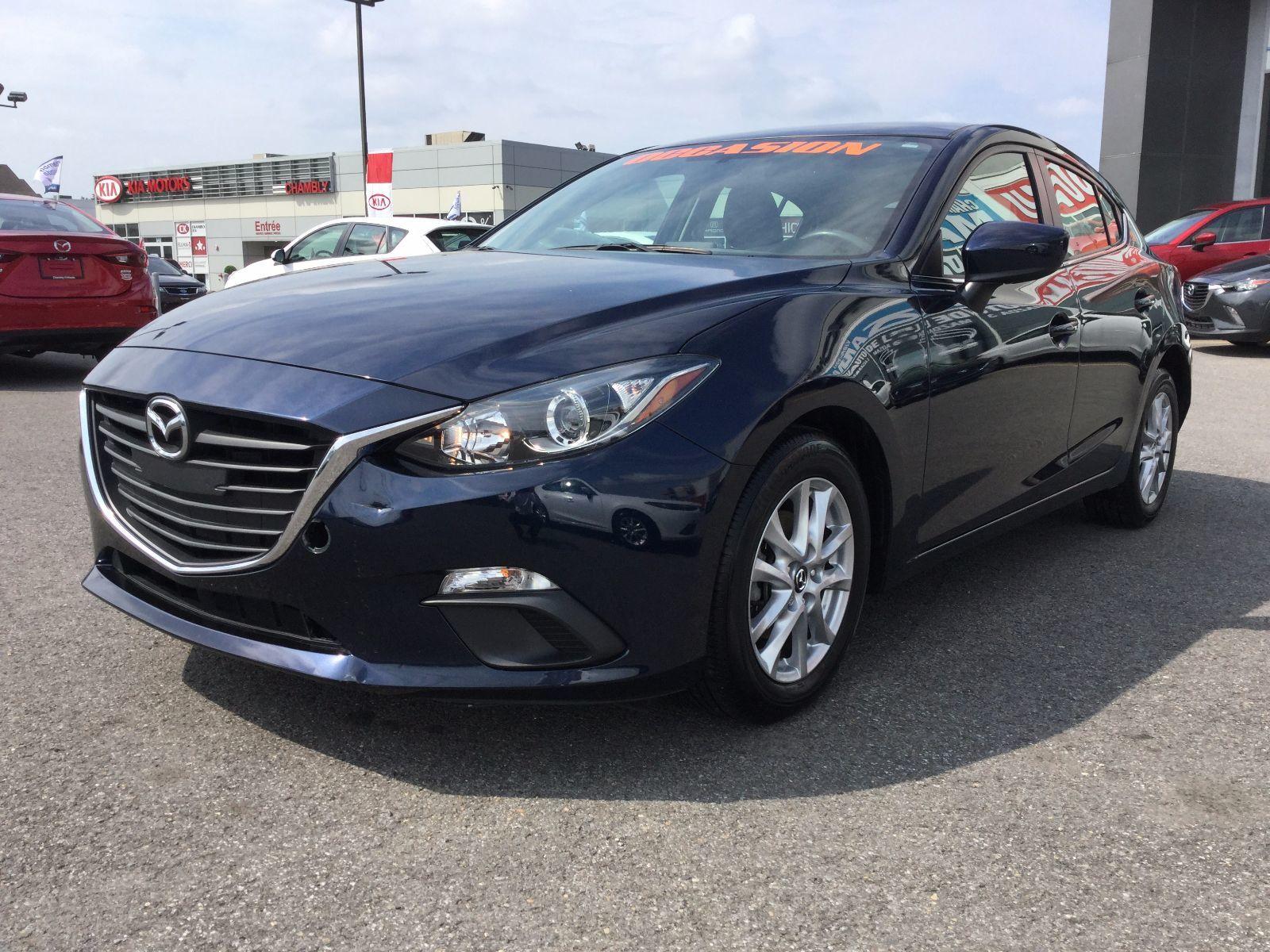 Mazda Mazda3 **RÉSERVÉ**,GS, CERTIFIABLE, TAUX À PARTIR DE 0.9% 2015 JAMAIS ACCIDENTÉ, UN SEUL PROPRIÉTAIRE, BAS KILOMETRAGE