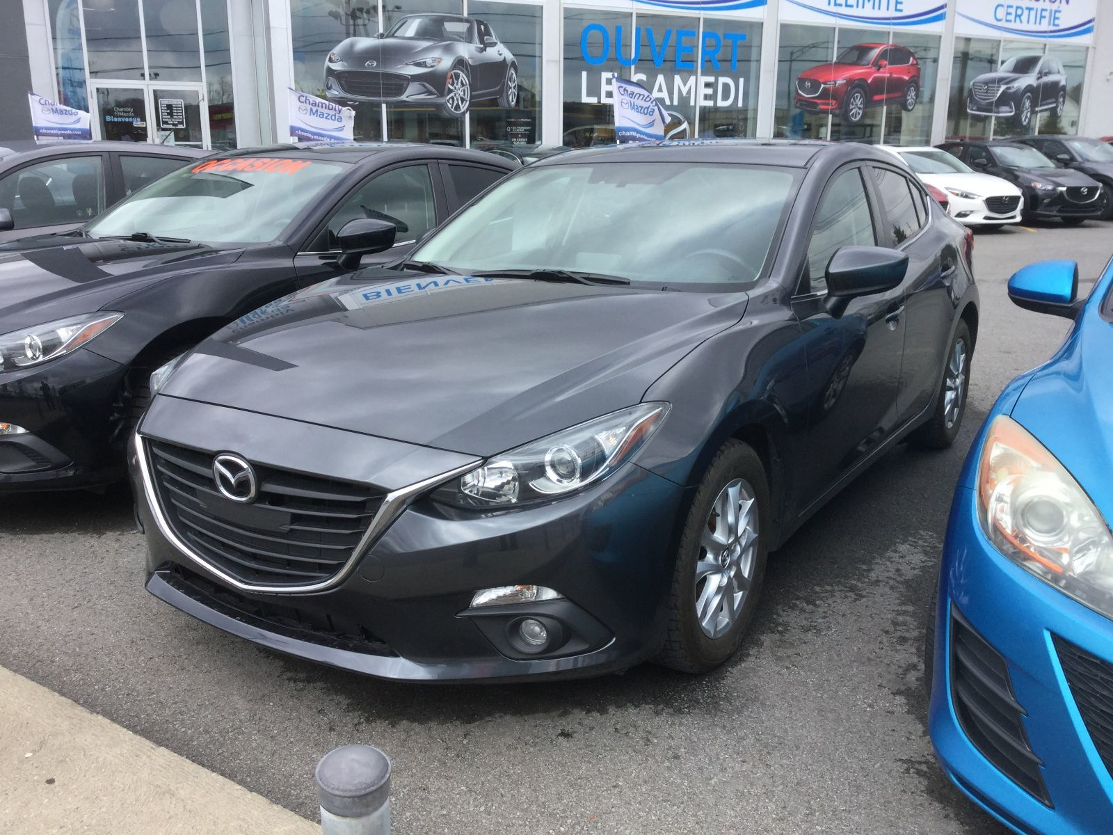 Mazda Mazda3 **RÉSERVÉ**GS, SIÈGE CHAUFFANTS, BLUETOOTH, CAMERA 2015 JAMAIS ACCIDENTÉ, UN SEUL PROPRIÉTAIRE