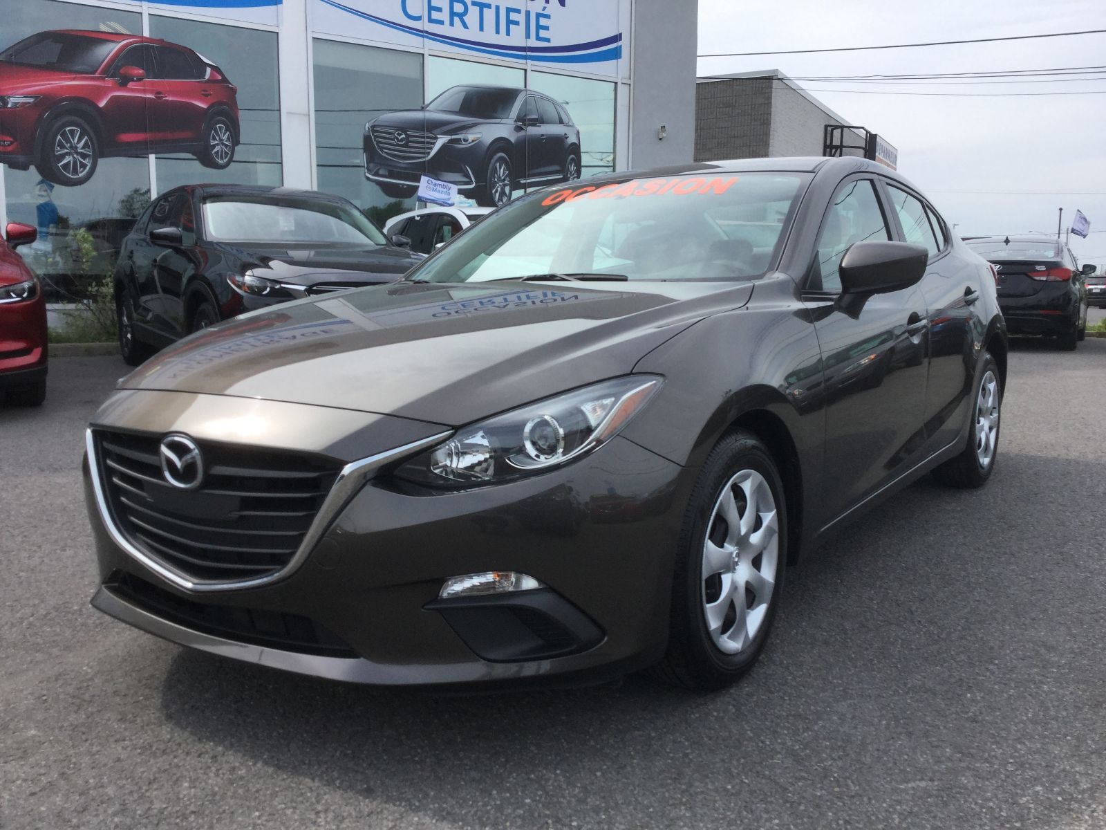 Mazda Mazda3 GX, BLUETOOTH, A/C, 2015 JAMAIS ACCIDENTÉ, UN SEUL PROPRIÉTAIRE