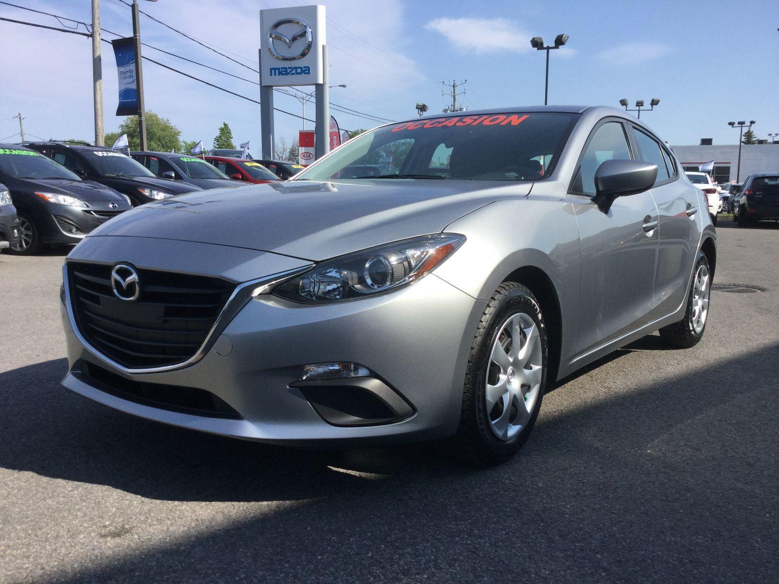 Mazda Mazda3 **RÉSERVÉ**, GX, BLUETOOTH, CAMERA, BLUETOOTH, A/C 2016 JAMAIS ACCIDENTÉ