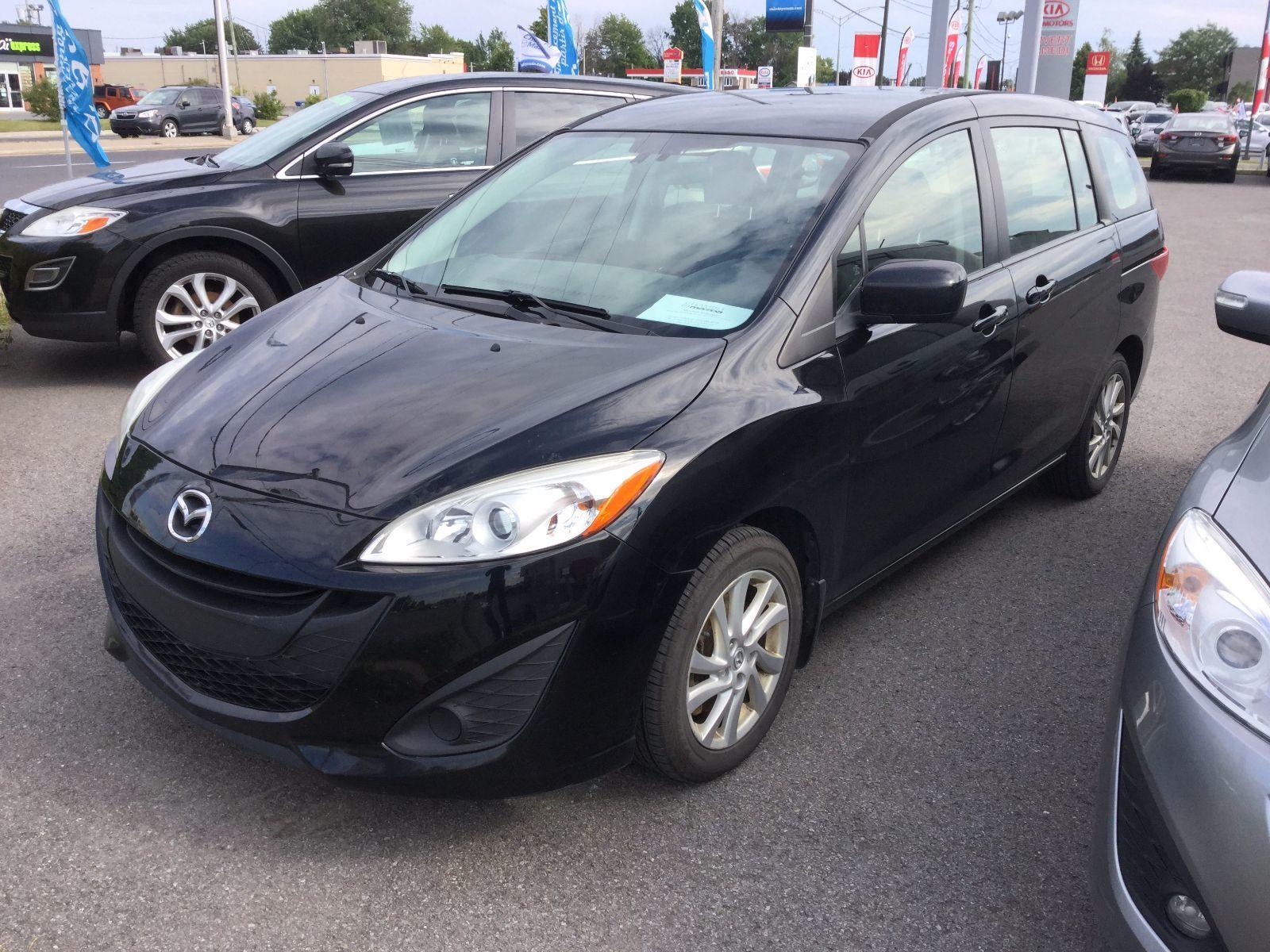 Mazda Mazda5 **RÉSERVÉ**, GS, SIÈGES CHAUFFANTS, BLUETOOTH 2012 JAMAIS ACCIDENTÉ, UN SEUL PROPRIÉTAIRE, BAS KILOMETRAGE