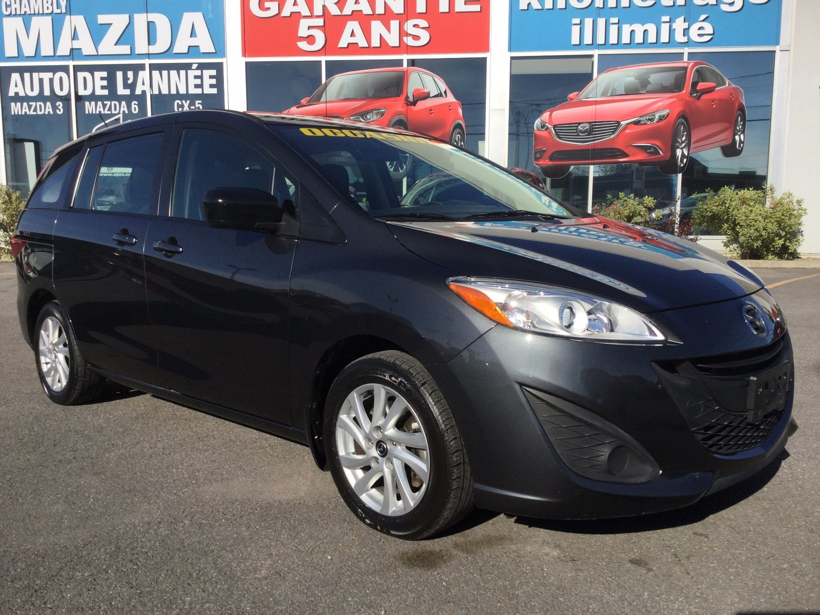 Mazda Mazda5 ***RÉSERVÉ***, GS, BLUETOOTH, MAGS, 2015 JAMAIS ACCIDENTÉ