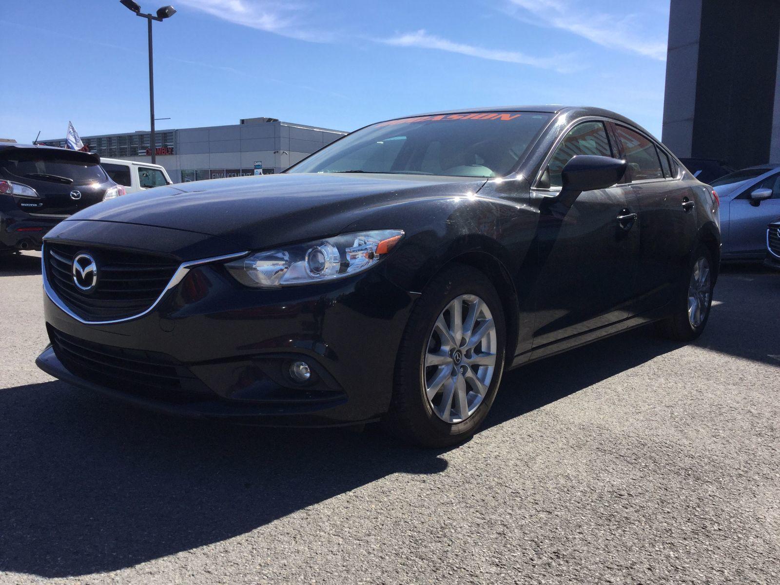 Mazda Mazda6 ***RÉSERVÉ***GS,TOIT, SIÈGES CHAUFFANTS, BLUETOOTH 2014 JAMAIS ACCIDENTÉ, UN SEUL PROPRIÉTAIRE