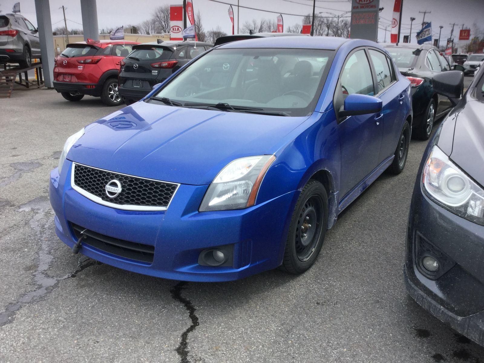 Nissan Sentra **RÉSERVÉ**,SR, SIÈGES CHAUFFANTS, BLUETOOTH, MAGS 2012 JAMAIS ACCIDENTÉ