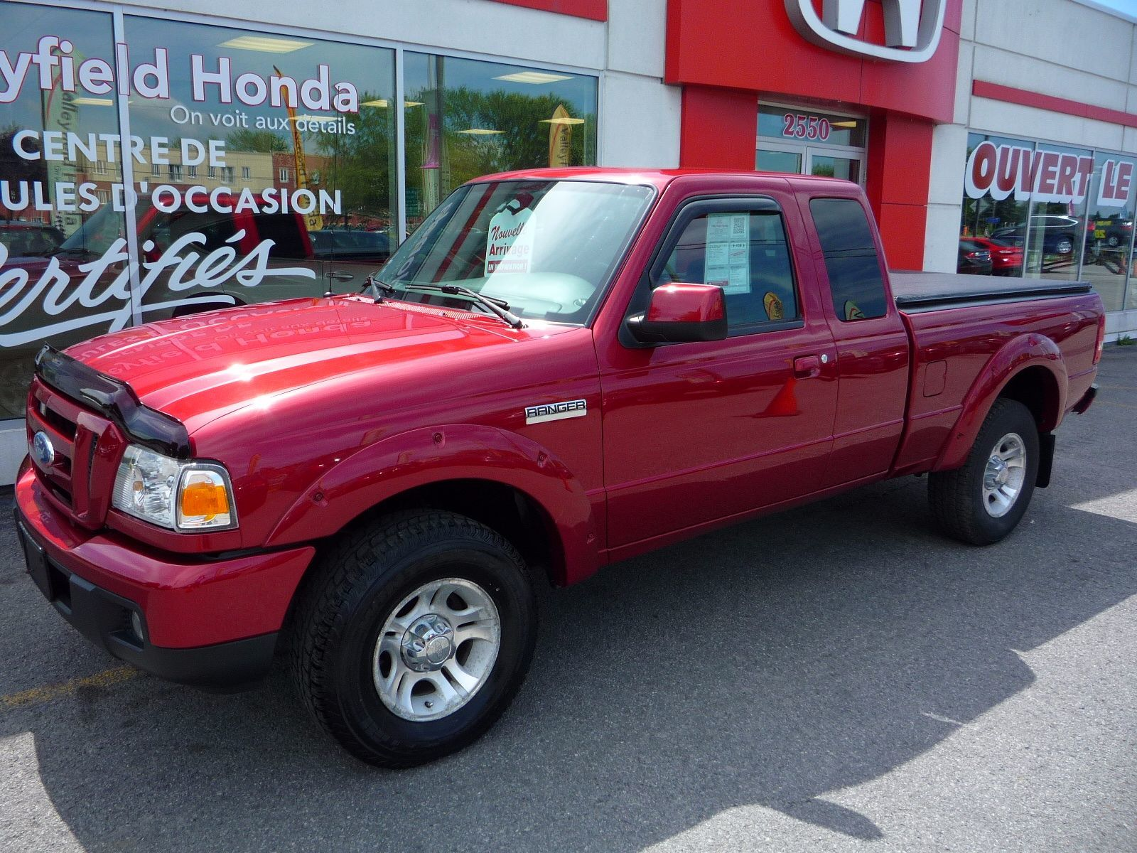 Used 2007 Ford Ranger AUTO A/C V6 MAGS at Valleyfield Honda   $8,995