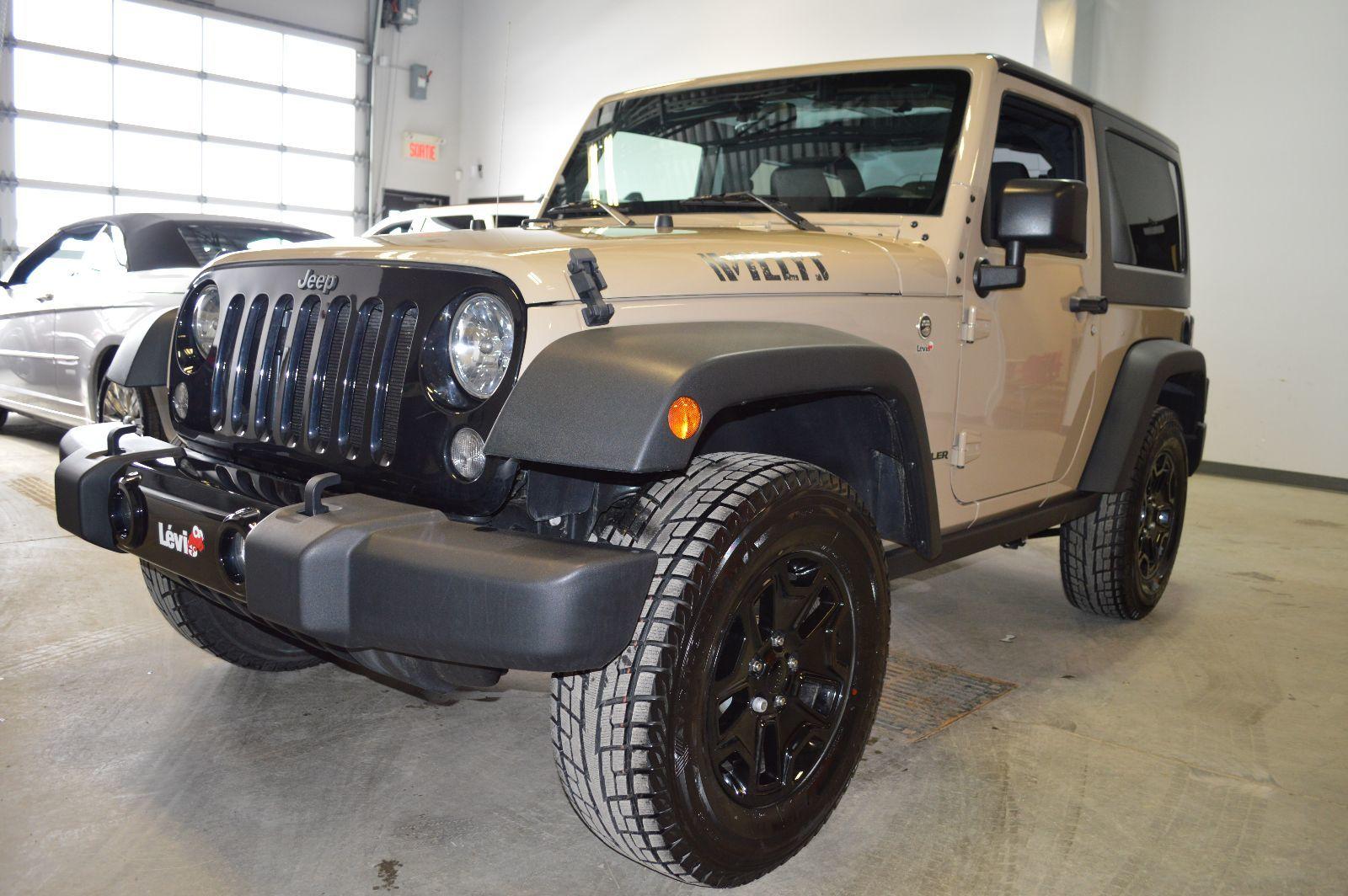 Lévis Chrysler | Jeep Wrangler Willys Wheeler 2016 à ...