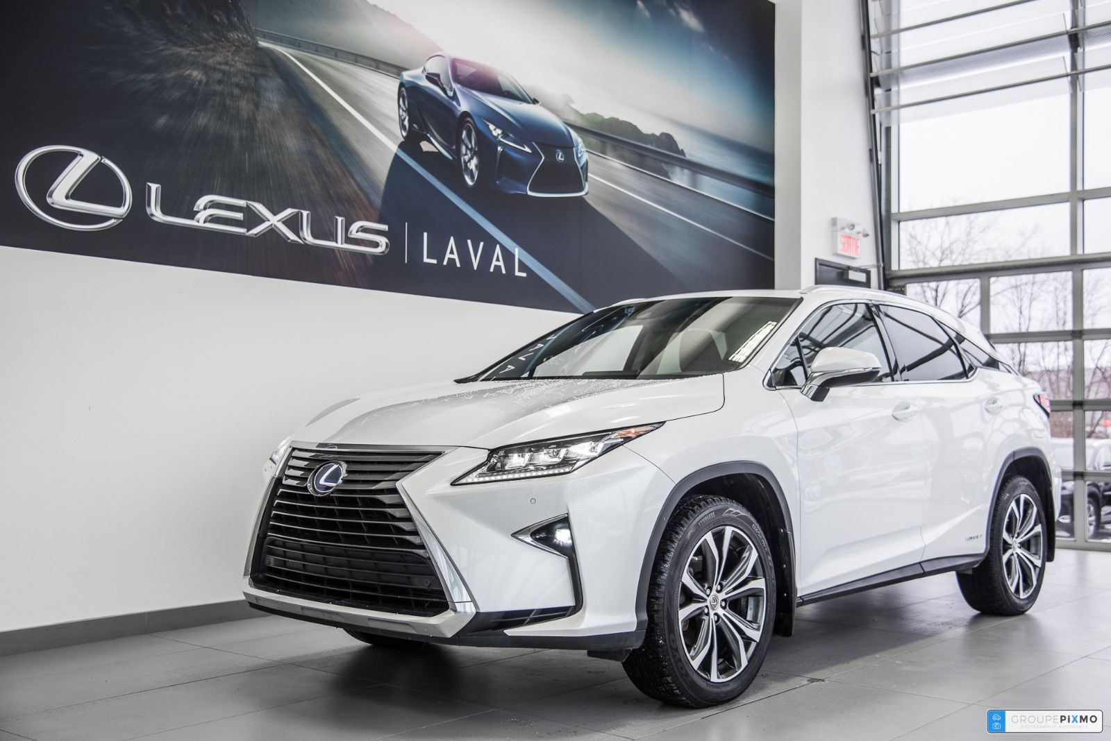 Pre Owned 2017 Lexus Rx 450h Luxe Navigation Camera