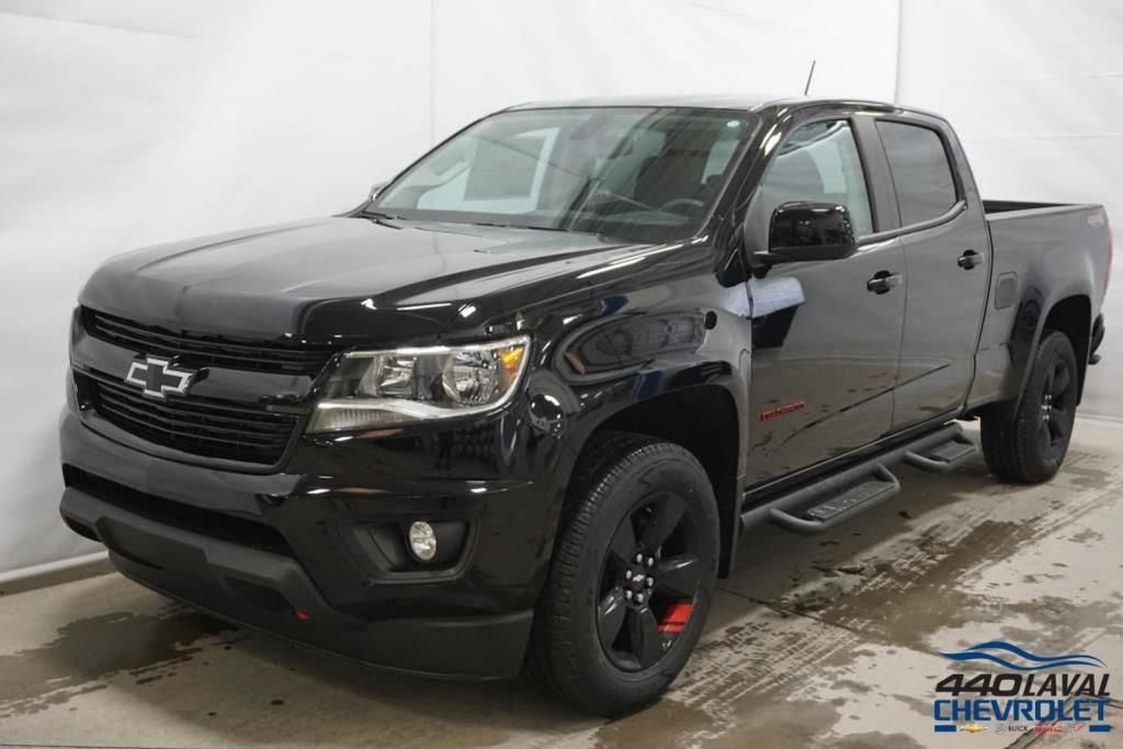 New 2018 Chevrolet Colorado LT, Redline, Crew Cab Black ...