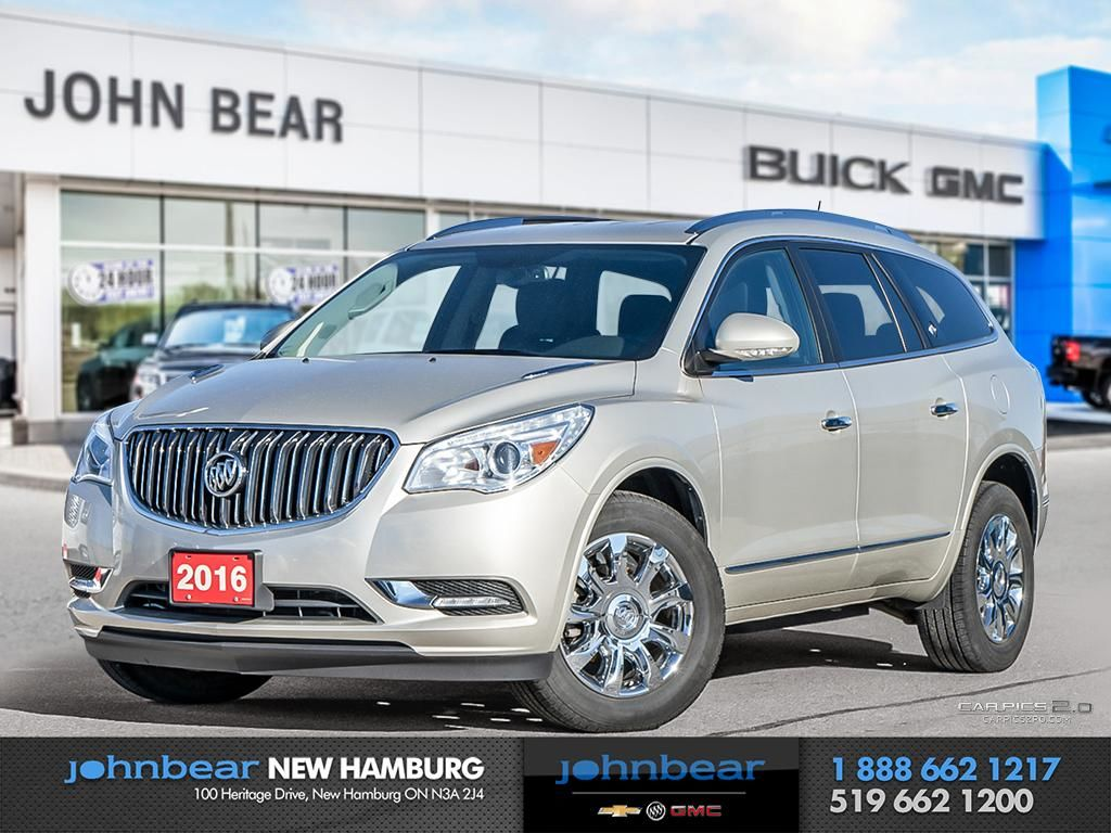 Used 2016 Buick Enclave CXL - LEATHER, NAV, HEATED SEATS ...