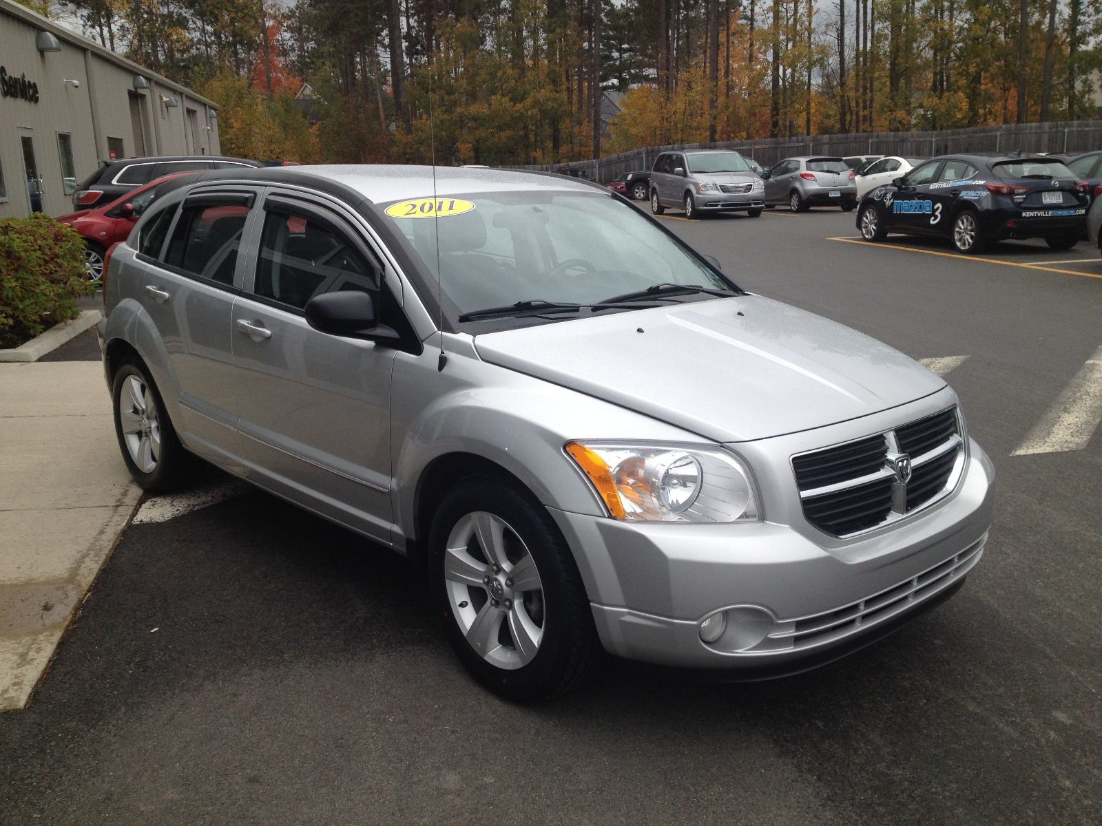 used 2011 dodge caliber sxt in new germany used inventory lake view auto in new germany. Black Bedroom Furniture Sets. Home Design Ideas
