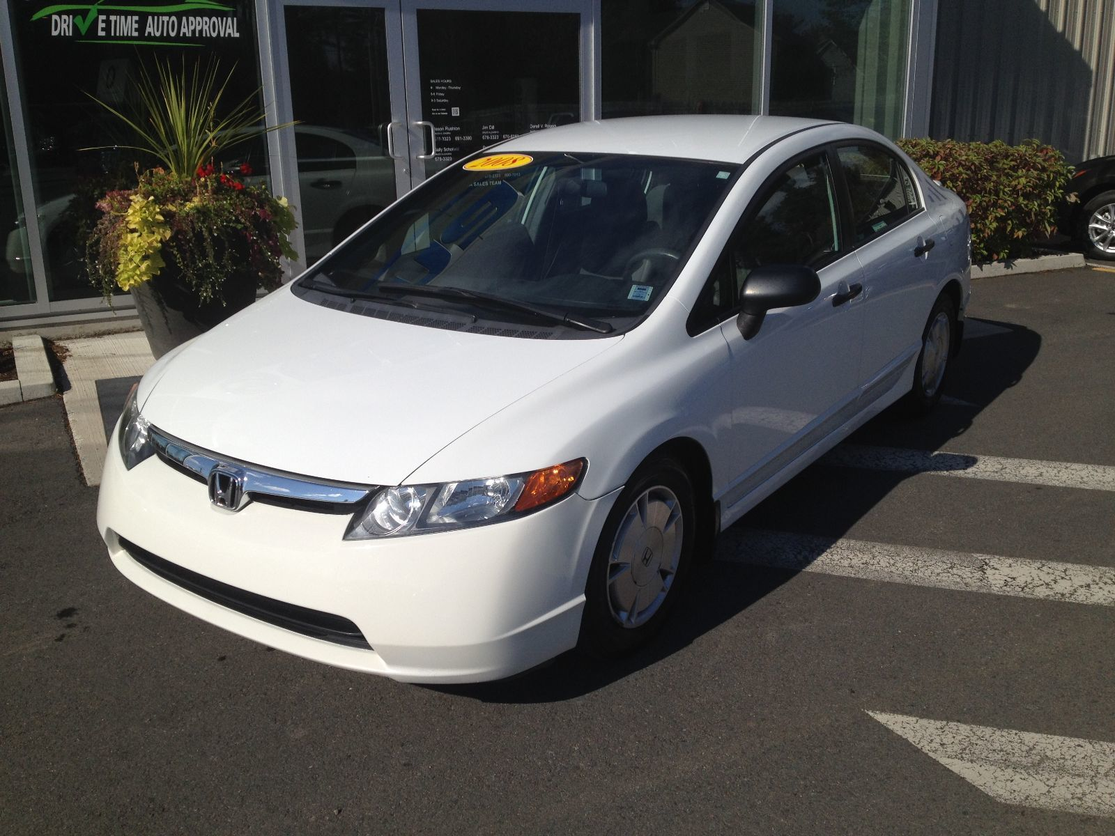 Used 2008 Honda Civic Sdn Dx G In New Germany Used Inventory