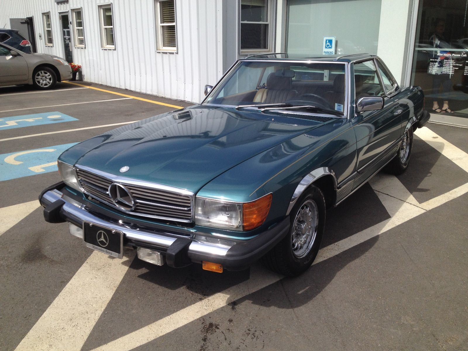 Used 1984 mercedes benz 380sl in kentville used for 1984 mercedes benz