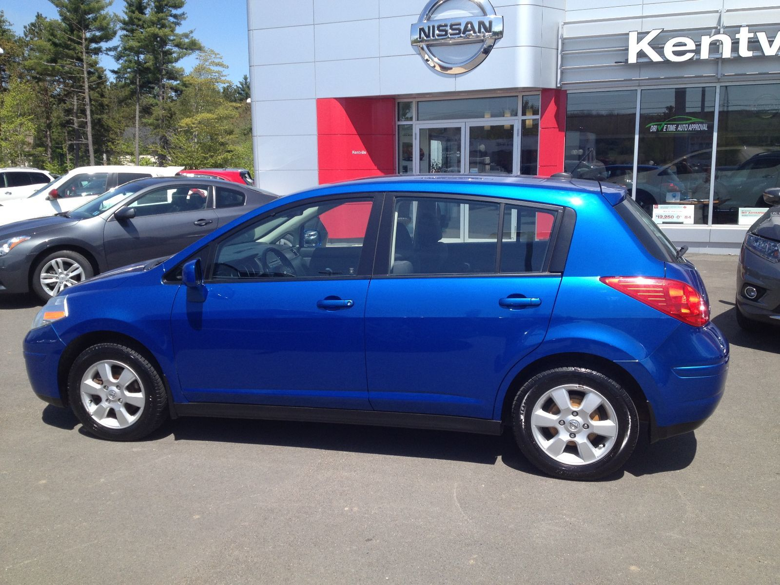 used 2008 nissan versa 1 8 sl in new germany used inventory lake view auto in new germany. Black Bedroom Furniture Sets. Home Design Ideas