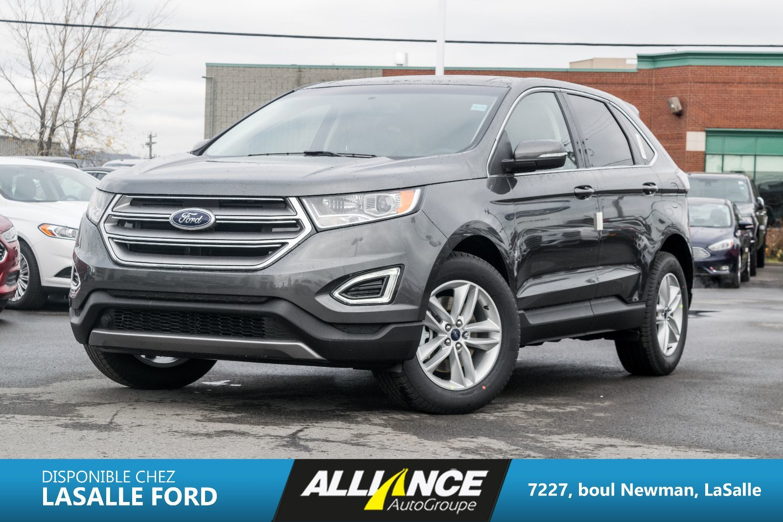 new 2016 ford edge sel for sale in lasalle lasalle ford in lasalle quebec. Black Bedroom Furniture Sets. Home Design Ideas