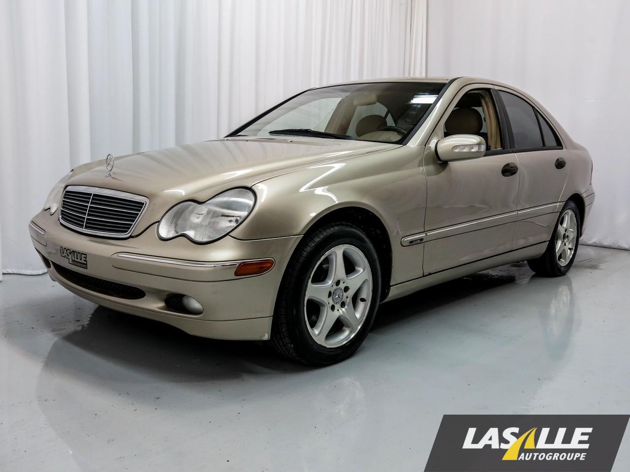 Mercedes benz classe c 240 2003 4 matic vendre montr al for Mercedes benz montreal