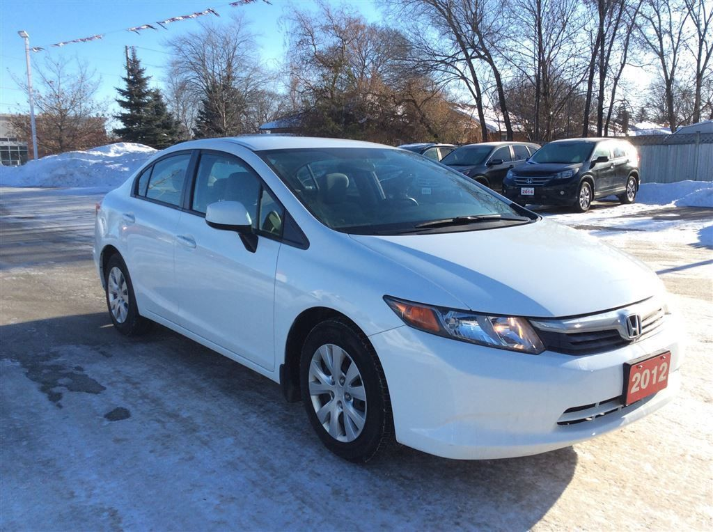 Used 2012 honda civic lx 1 owner accident free for sale for Honda used inventory