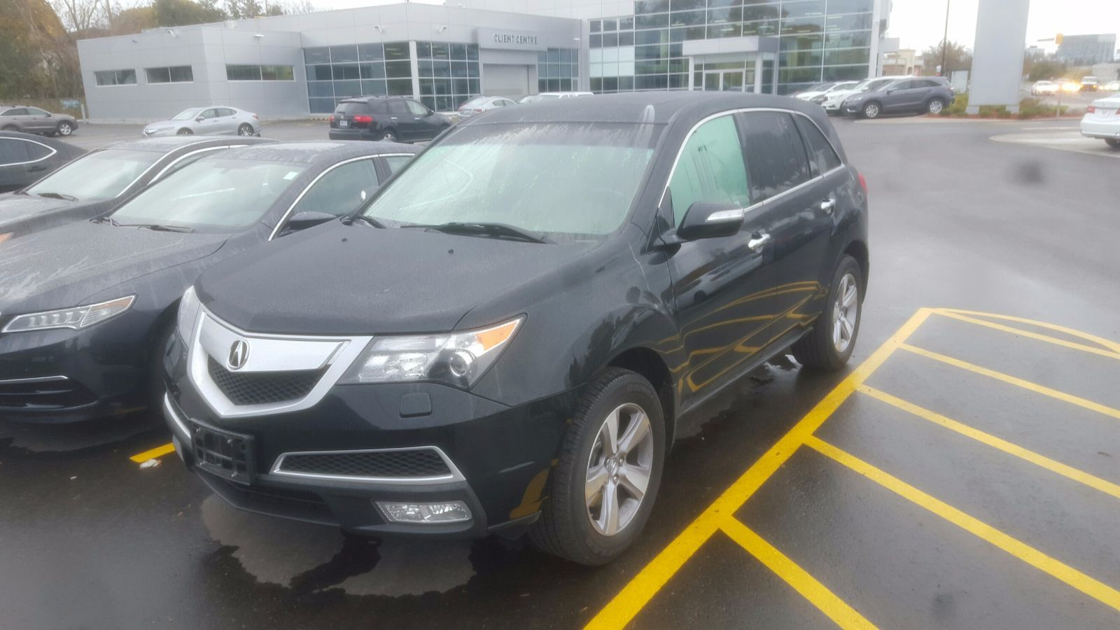 Pre Owned 2013 Acura Mdx 7 Seater Sh Awd Rearview Camera
