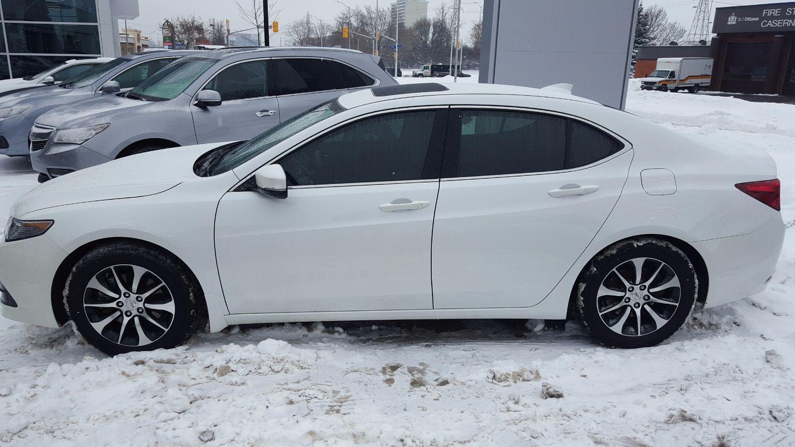 Pre Owned 2015 Acura Tlx 2 4l P Aws W Tech Pkg In Ottawa