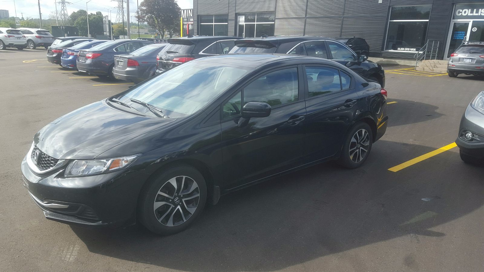 Pre Owned 2014 Honda Civic Sunroof Automatic Alloy Wheels