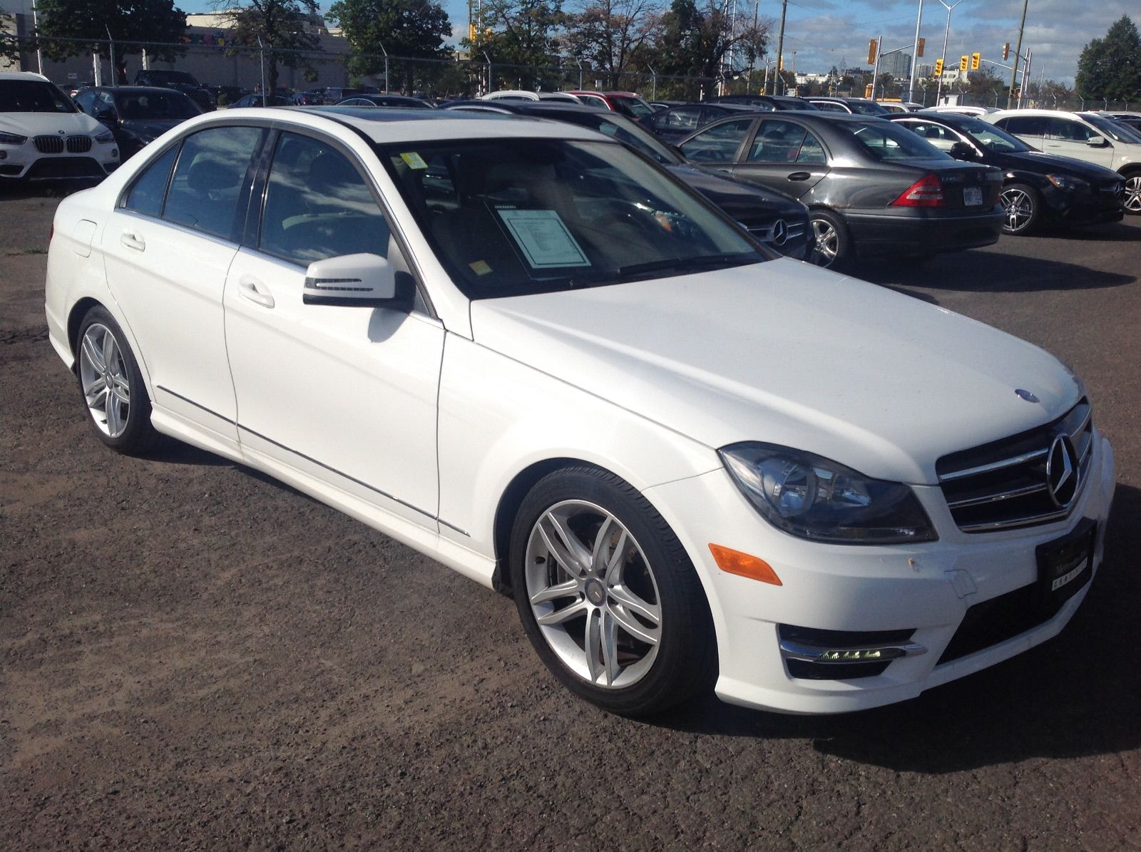 Pre owned 2014 mercedes benz c300 amg styling sport pkg for Mercedes benz chandler inventory