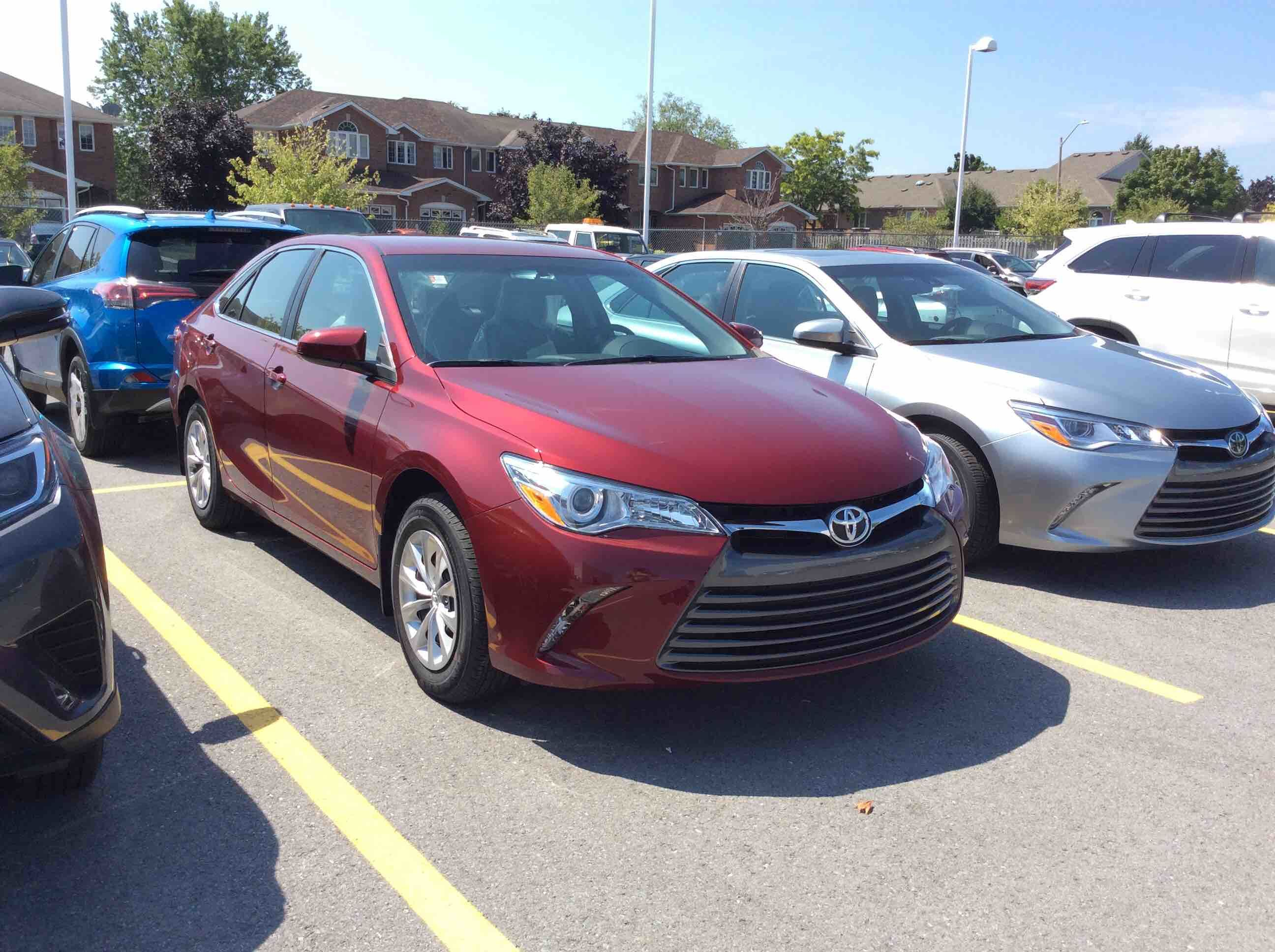 new 2017 toyota camry 4 door sedan le 6a for sale in kingston kingston toyota in kingston. Black Bedroom Furniture Sets. Home Design Ideas