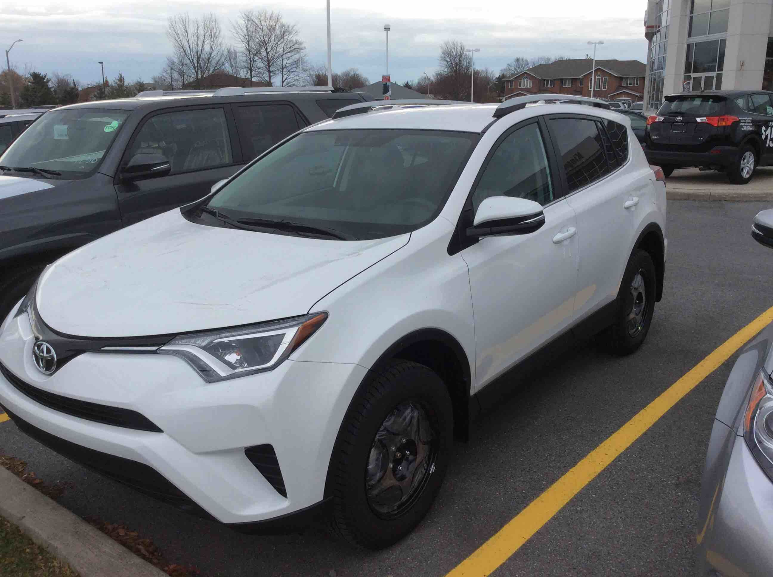new 2016 toyota rav4 awd le for sale in kingston kingston toyota scion in kingston ontario. Black Bedroom Furniture Sets. Home Design Ideas