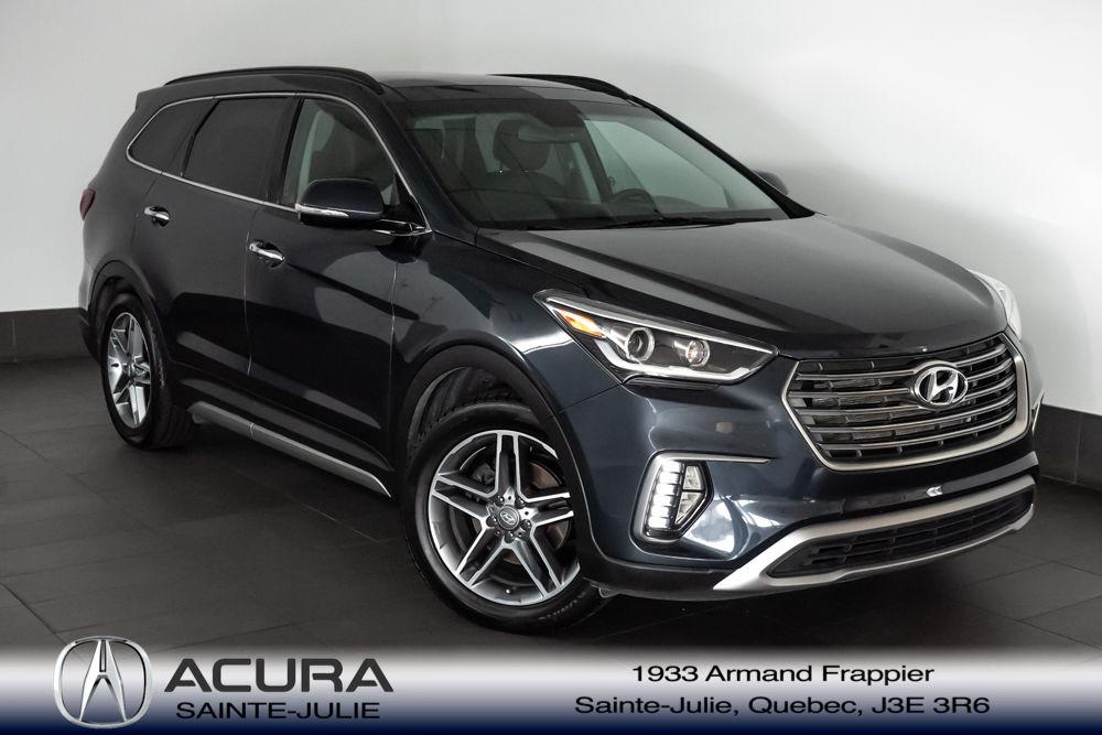 Used 2017 Hyundai Santa Fe Xl Limited At Acura Sainte Julie 26 985