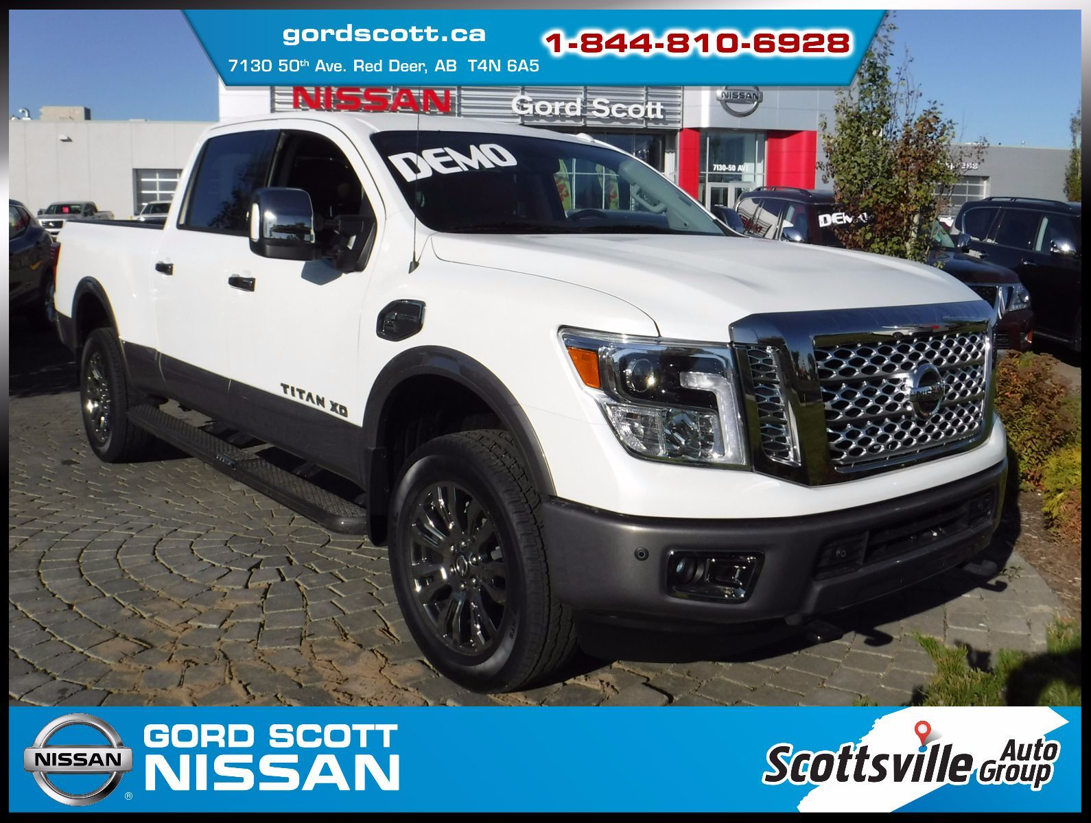 new 2017 nissan titan xd diesel platinum reserve w two tone paint for sale in red deer gord. Black Bedroom Furniture Sets. Home Design Ideas