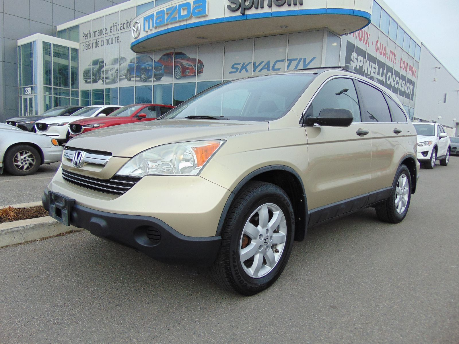 Used 2009 honda cr v ex deal pending awd toit in montreal for Honda used inventory