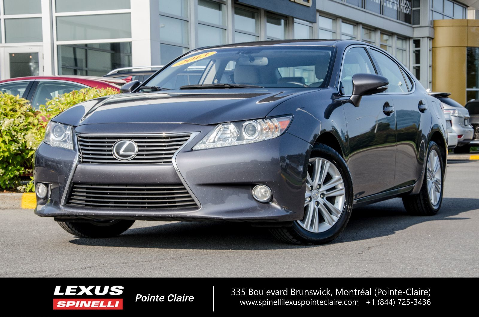 used 2013 lexus es 350 in montreal laval and south shore p1916. Black Bedroom Furniture Sets. Home Design Ideas