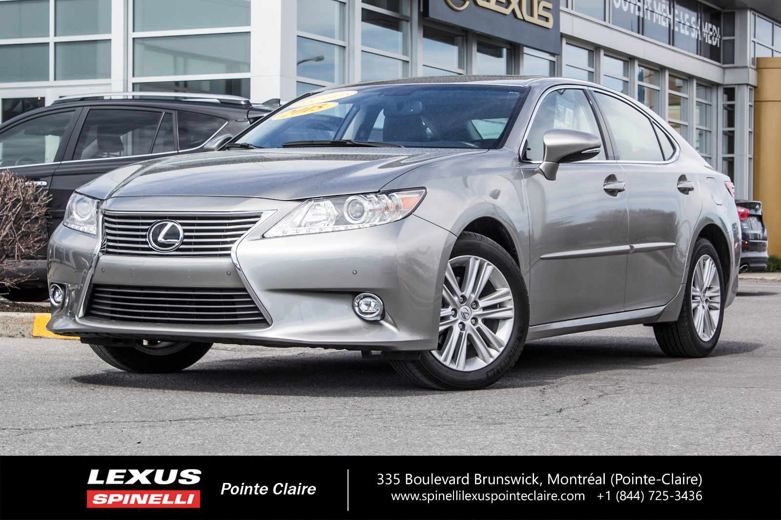 used 2015 lexus es 350 touring navigation cam cuir toit in montreal laval and south shore. Black Bedroom Furniture Sets. Home Design Ideas