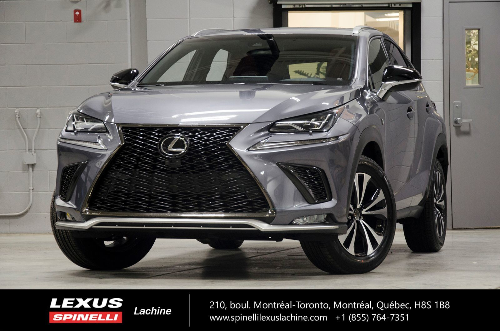 used 2018 lexus nx 300 f sport i awd cuir toit camera lss for sale in montreal demo 18tl072. Black Bedroom Furniture Sets. Home Design Ideas