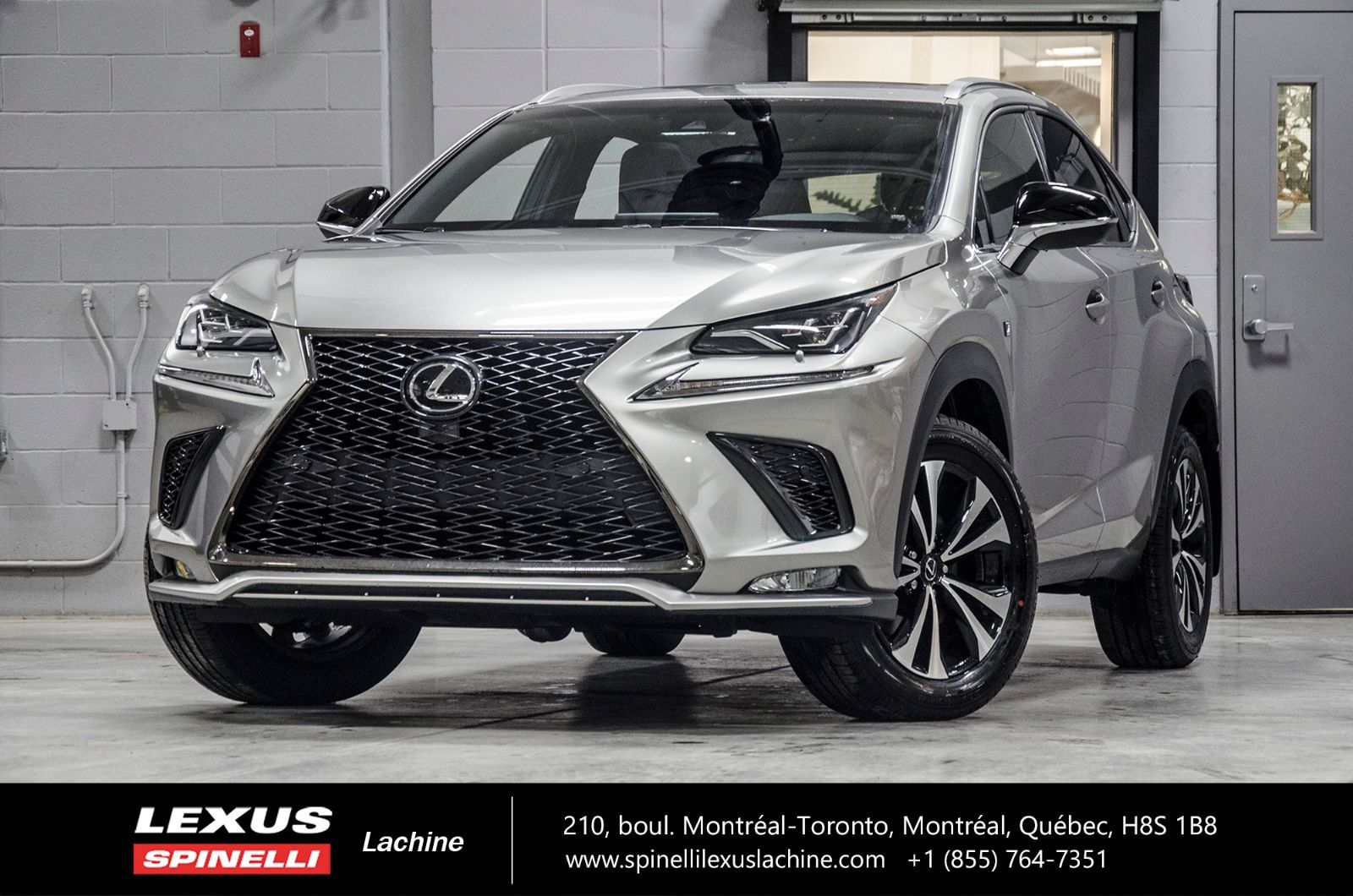 used 2019 lexus nx 300 f sport ii awd reserve on hold for sale in montreal demo 19tl024. Black Bedroom Furniture Sets. Home Design Ideas