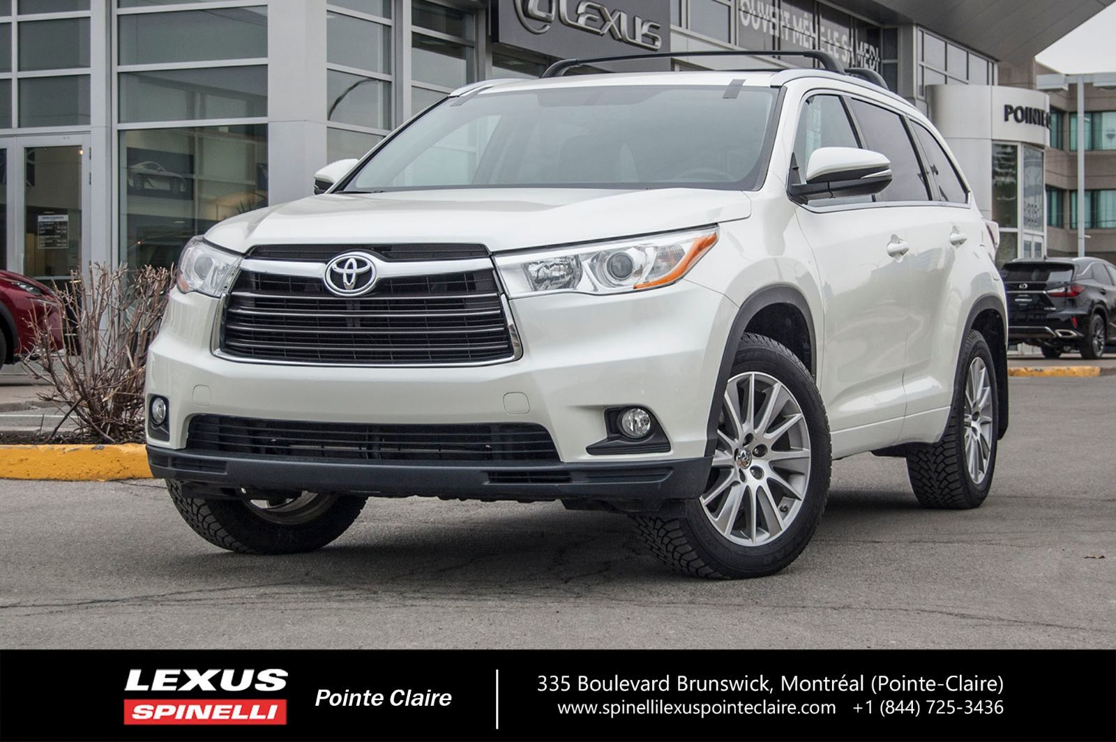 Used 2014 Toyota Highlander Xle Awd Navigation In Montreal