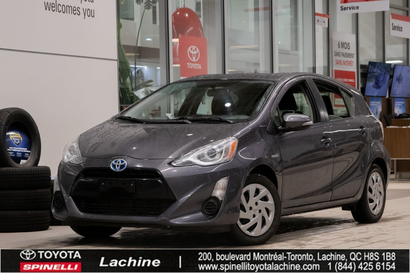 used 2015 toyota prius c technology for sale in montreal. Black Bedroom Furniture Sets. Home Design Ideas